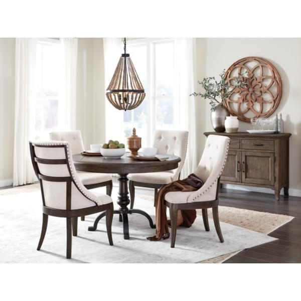 Roxbury Manor 5 Piece Round Dining Set