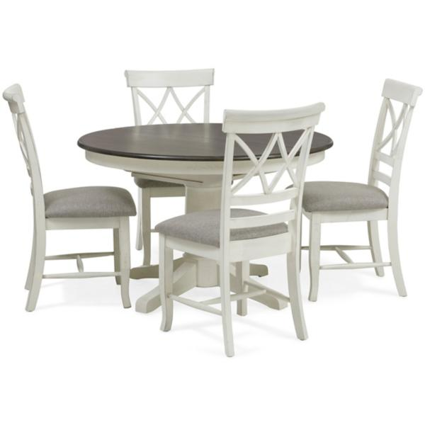 Lacy 5 Piece Round Dining Set