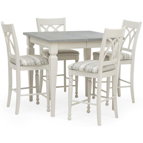 Seabrook 5 Piece Counter Height Dining Set