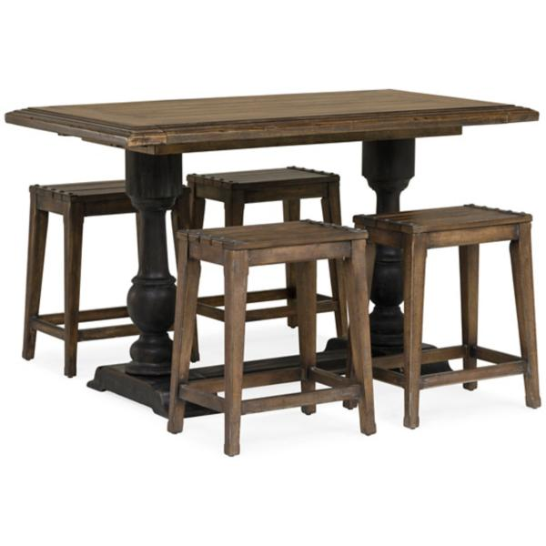 Hill Country 5 Piece Counter Height Dining Set