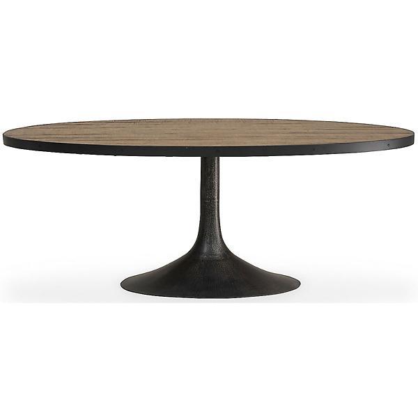 Miranda 5 Piece Oval Dining Set - ANEW GREY