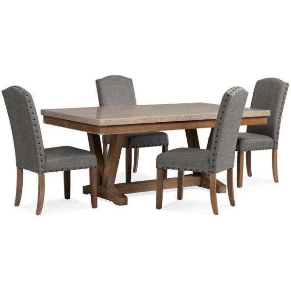 Vesper 5 Piece Rectangular Dining Set