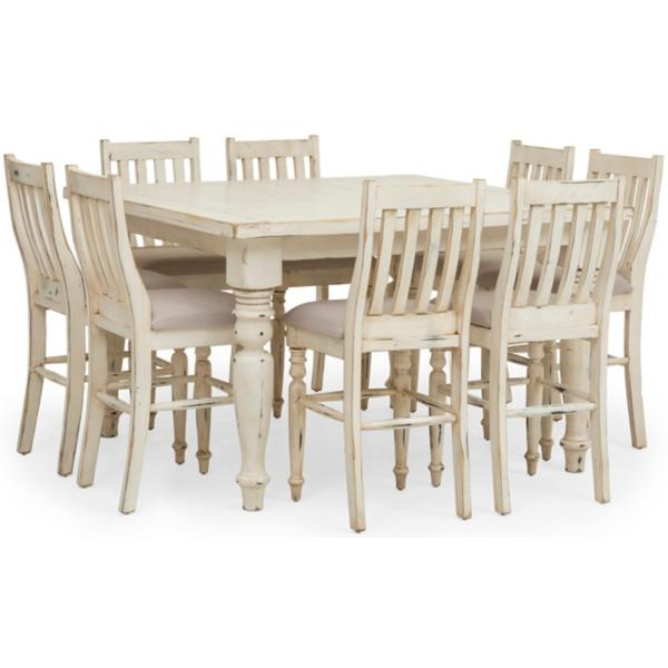 Verona 9 Piece Counter Height Dining Set