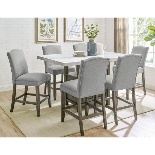 Grayson 5 Piece Counter Height Dining Set