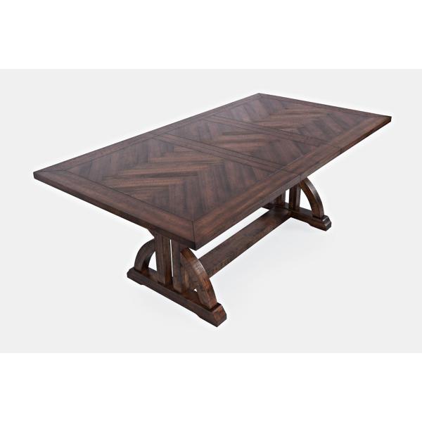 Fairview 5 Piece Dark Oak Counter Height Dining Set