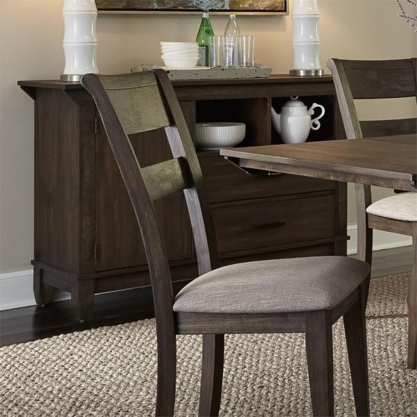 Double Bridge 5 Piece Counter Height Dining Set