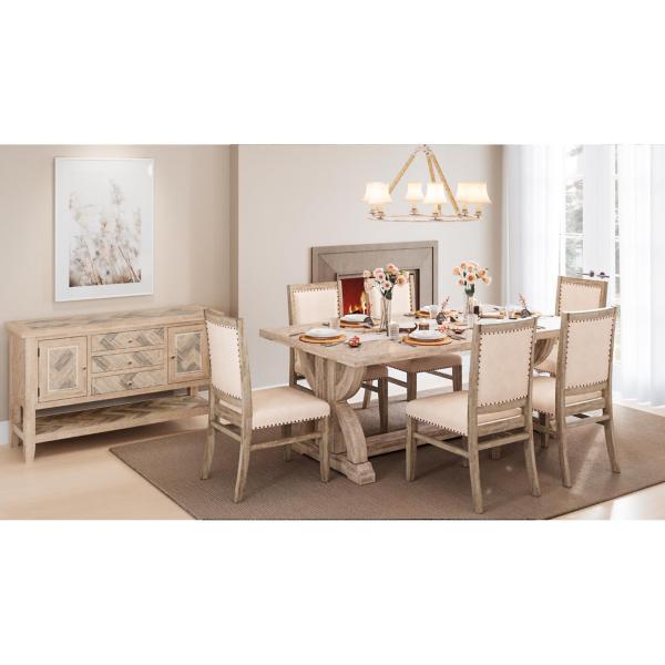 Fairview 5 Piece Rectangular Dining Set - ASH