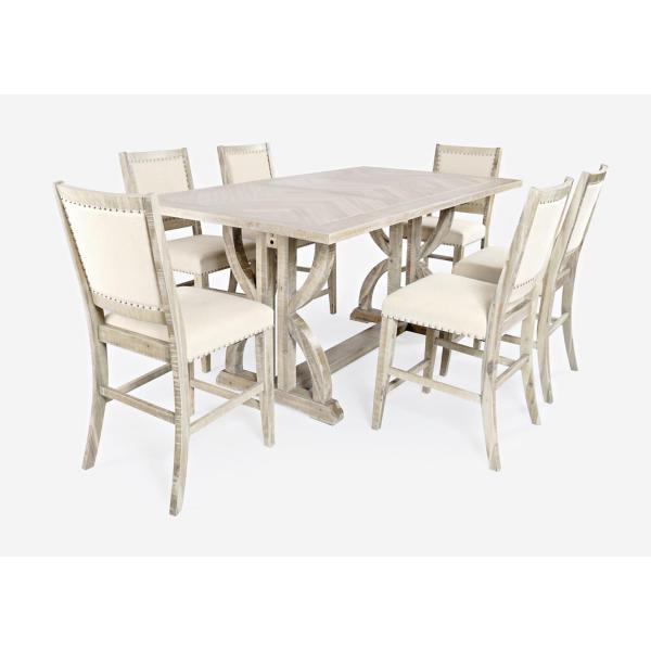 Fairview 5 Piece Counter Height Dining Set - ASH