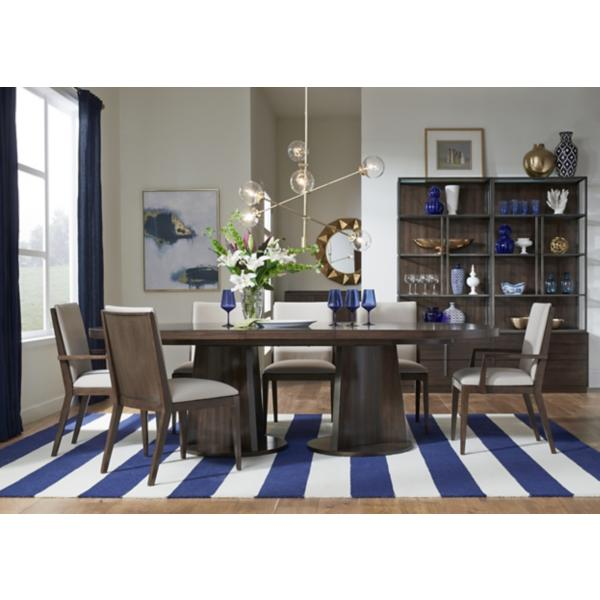 Paldao 5 Piece Oval Dining Set