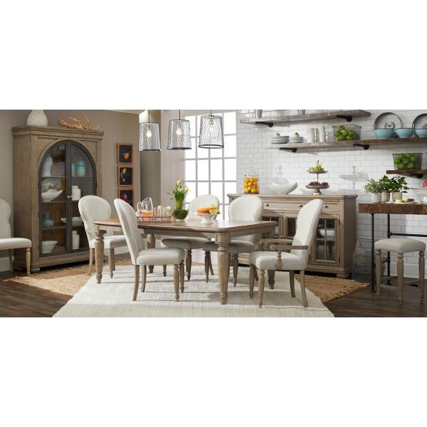 Trisha Yearwood Nashville 5 Piece Leg Table Dining Set