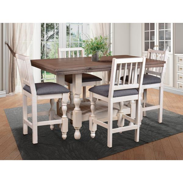 Bay View 5 Piece Counter Height Set