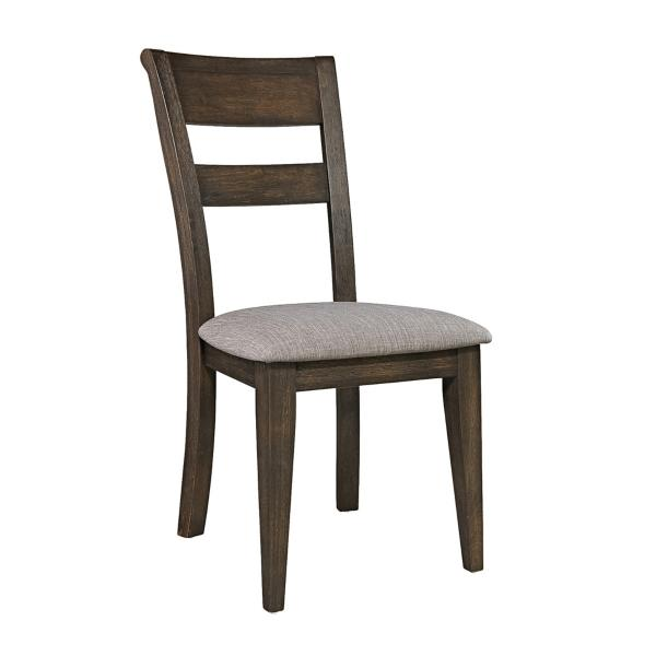 Double Bridge 5 Piece Dining Set W/Splat Back Side Chair