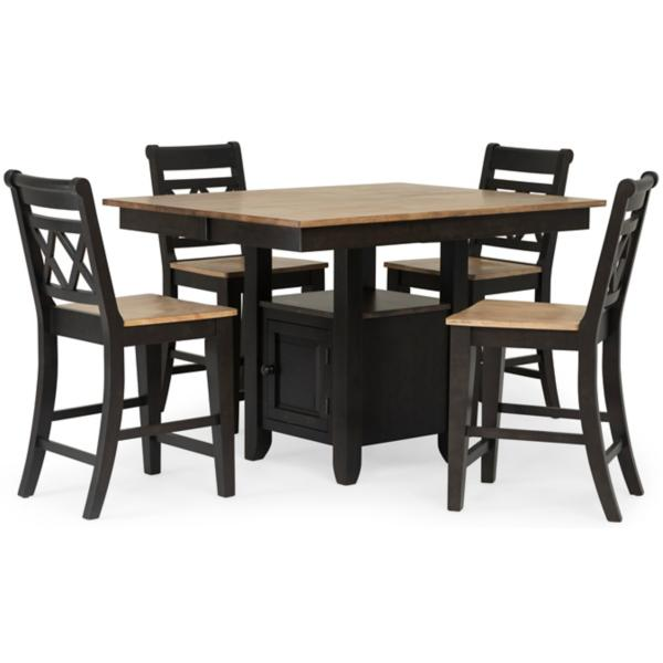 Stratford 5 Piece Counter Height Dining Set