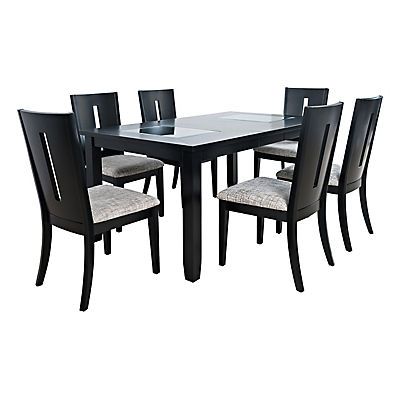 Arden 5 Piece Rectangular Dining Set - Black