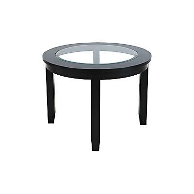 Arden 5 Piece Round Dining Set - Black