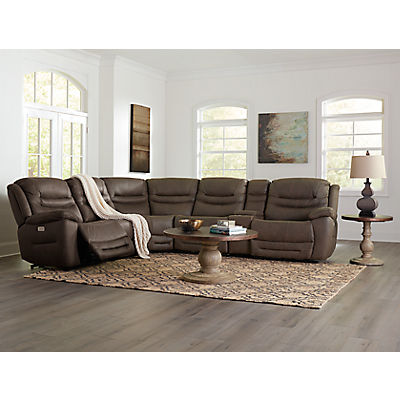 Avery 6-Piece Modular Power Reclining Sectional