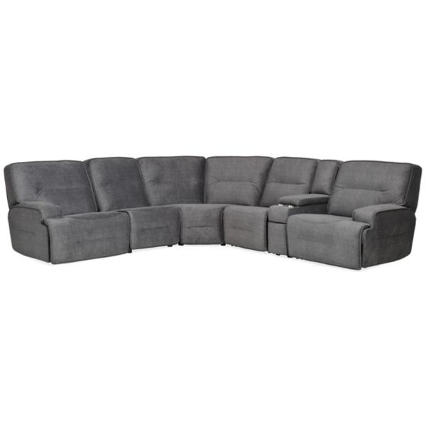 Galaxy 6 Piece Power Reclining Modular Sectional