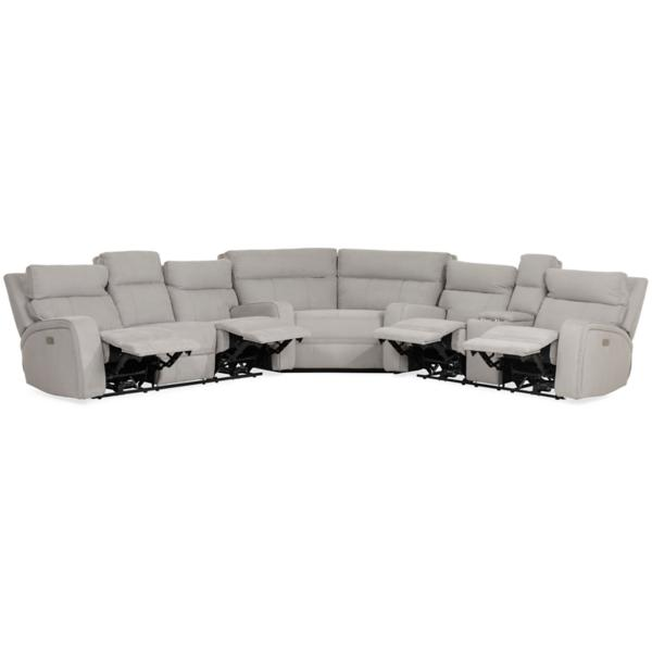 York Power Reclining Sectional