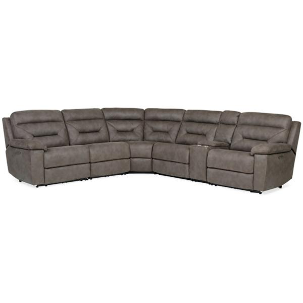 Burton 6-Piece Power Reclining Modular Sectional