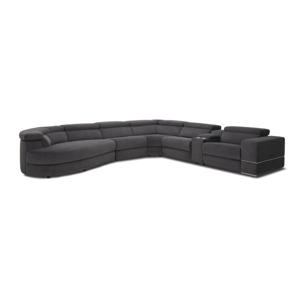 Zephyr 6 Piece Power Reclining Modular Sectional - LAF CHAISE