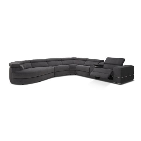 Zephyr 6-Piece Power Reclining Modular Sectional - LAF CHAISE