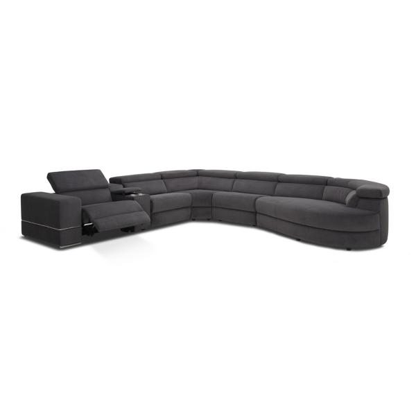 Zephyr 6-Piece Power Reclining Modular Sectional - RAF CHAISE