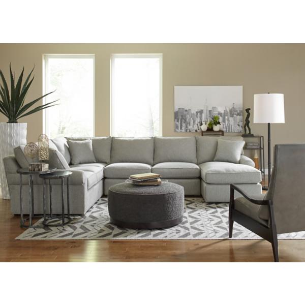 Lauren 3-Piece Chaise Sectional (RAF)