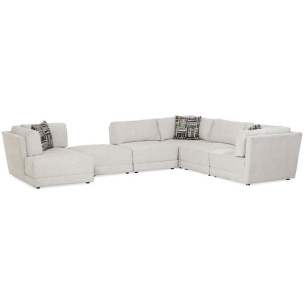 Elwood 6-Piece Modular Chaise Sectional (LAF)