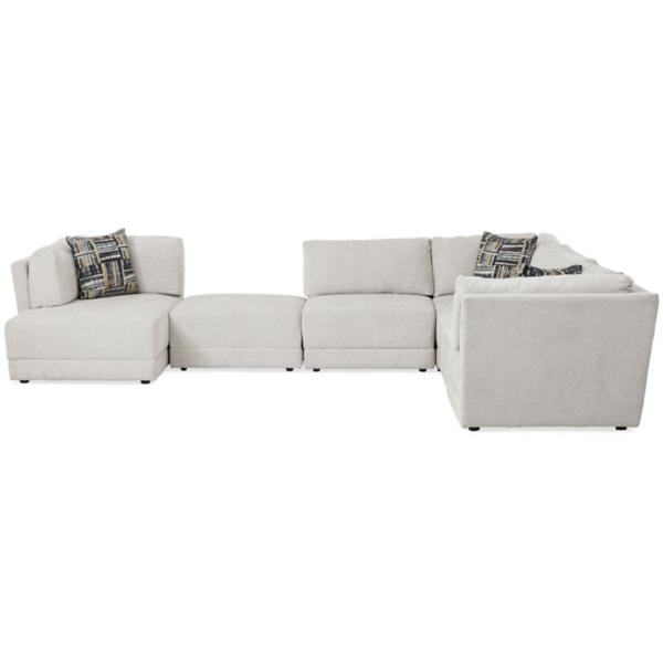 Elwood 6 Piece Modular Chaise Sectional (LAF)