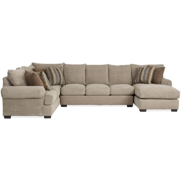 Tyler 3 Piece Chaise Sectional (RAF)