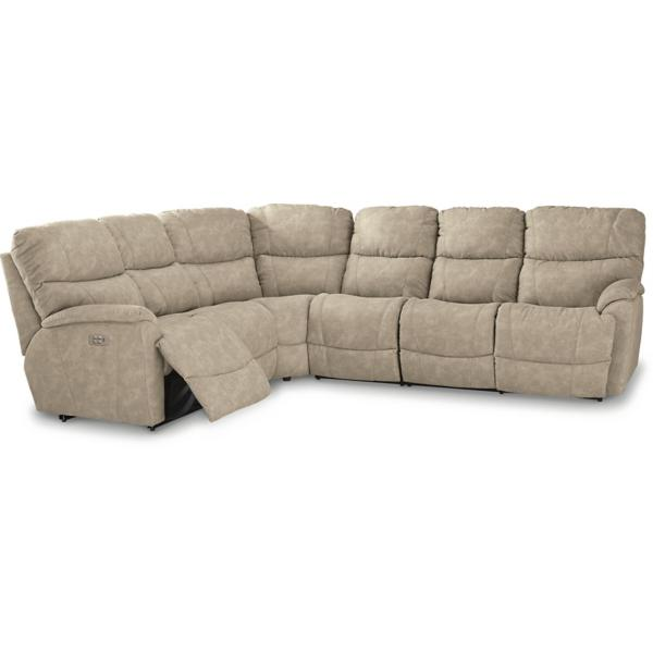 Trouper 4-Piece Power Reclining Sectional