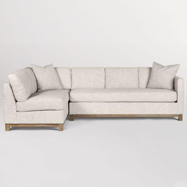 Clayton 2 Piece Chaise Sectional - LAF