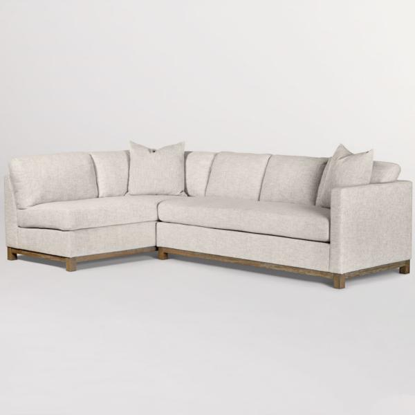 Clayton 2-Piece Chaise Sectional - LAF