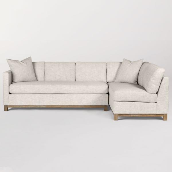 Clayton 2-Piece Chaise Sectional - RAF