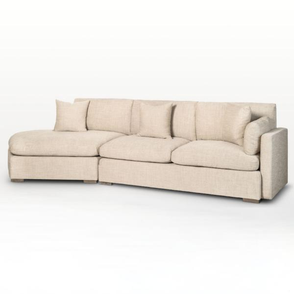 Kayden 2-Piece Chaise Sectional - RAF