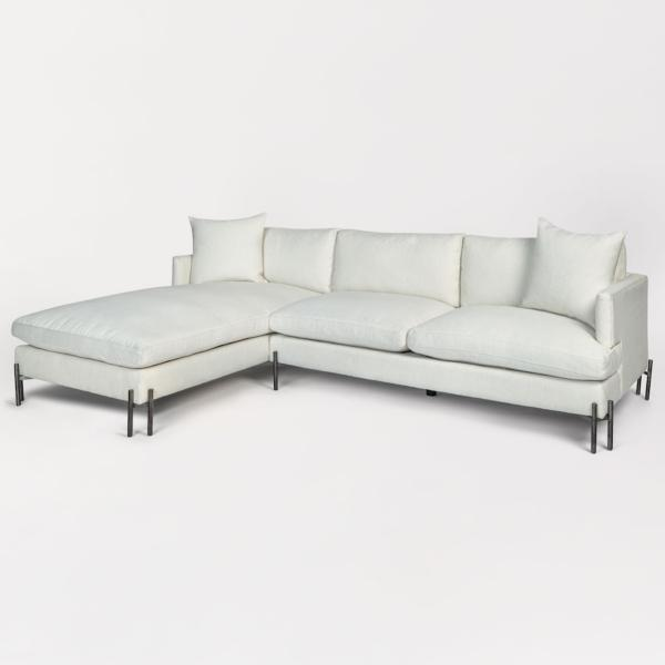 Britton 2-Piece Chaise Sectional - LAF