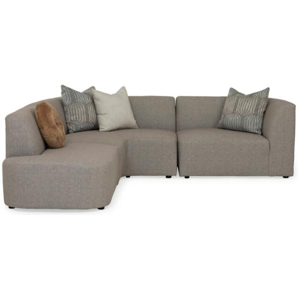 Nyla II 3-Piece Sectional (RAF)