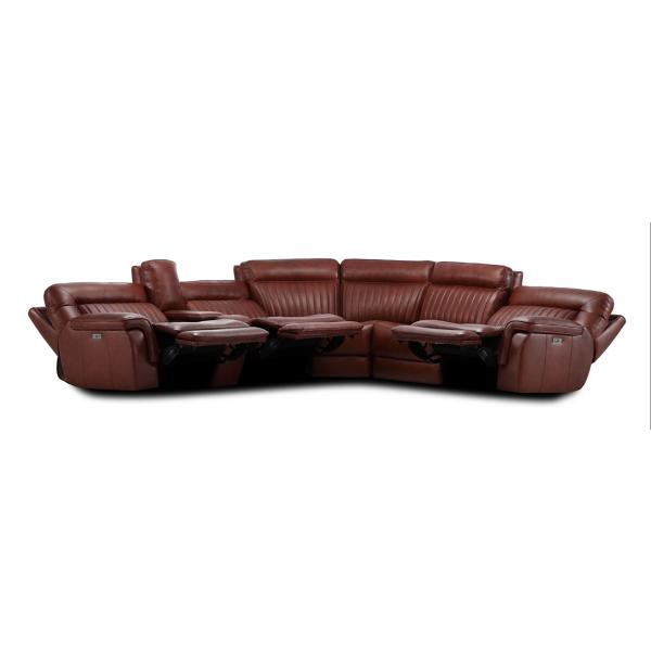 Ames 6-Piece Reclining Sectional
