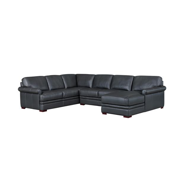 Vance 3 Piece Sectional  W/ RAF Chaise