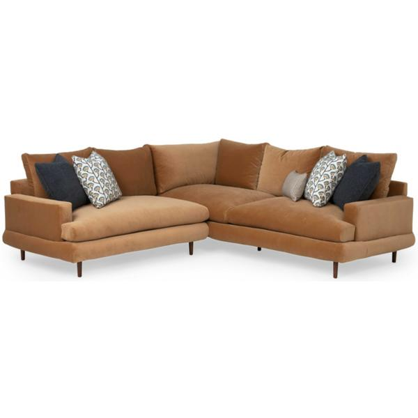 Somerset 2-Piece Sectional W/ LAF Loveseat