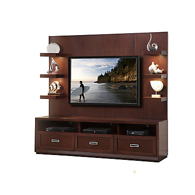 Channing 2PC Entertainment Wall