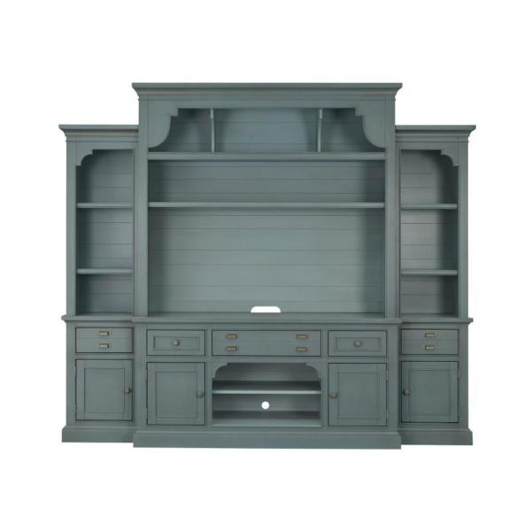 Anderson 4PC entertainment Wall- Teal