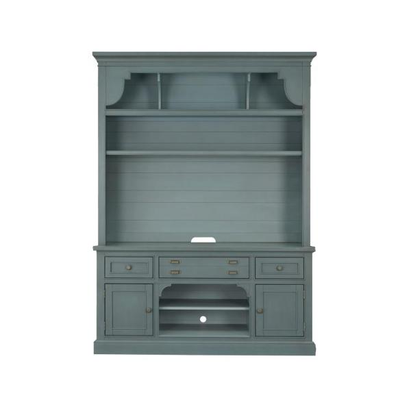 Anderson 2PC Entertainment Wall- Teal