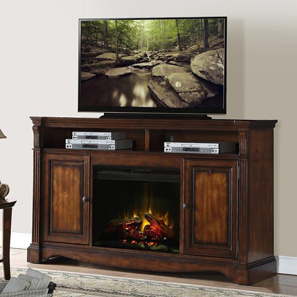 Harrison 4PC Fireplace Entertainment Wall