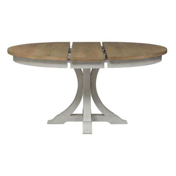 Farmhouse Reimagined Round Pedestal Table