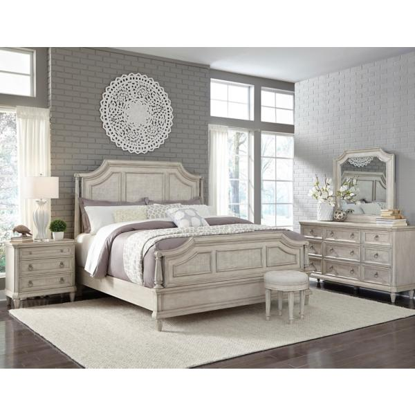 Campbell St. Panel Bed