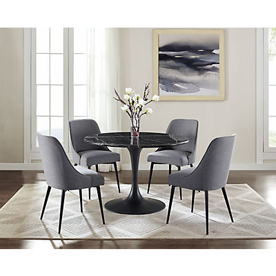 Colfax Marble Top Dining Table