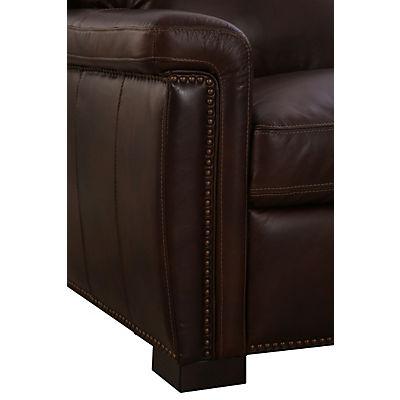 Wyatt Leather 2-Piece Sectional