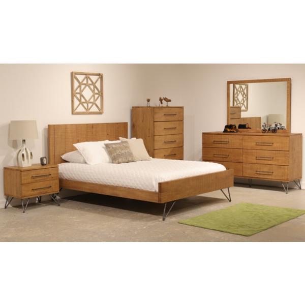 Jackson King Panel Bed