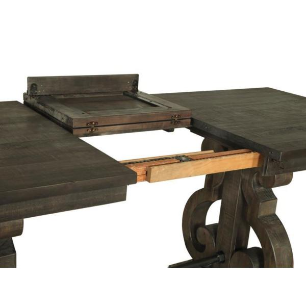 Treble II Counter Height Dining Table - PEPPERCORN